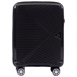 PP06, Cabin suitcase Wings S, Black - Polipropylene