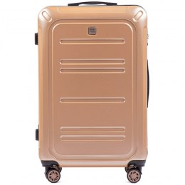 100 % POLICARBON / PC175, Large suitcase Wings Champagne / 5 years warranty