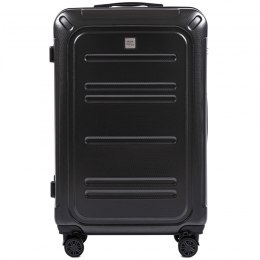 100 % POLICARBON / PC175, Large suitcase Wings Dark grey / 5 years warranty