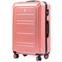 100 % POLICARBON / PC175, Large suitcase Wings Pink / 5 years warranty
