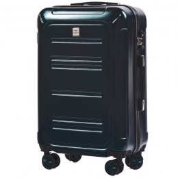 100 % POLICARBON / PC175, Middle size suitcase Wings M, Green / 5 years warranty