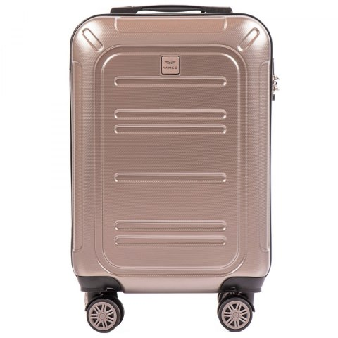 100 % POLICARBON / PC175,Cabin suitcase Wings S, Bronze/ 5 years warranty