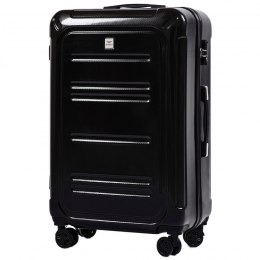 100 % POLICARBON / PC175, Large suitcase Wings Black / 5 years warranty