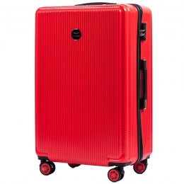 100 % POLICARBON / PC565, Large suitcase Wings, Blood red/ 5 years warranty