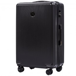 100 % POLICARBON / PC565, Large suitcase Wings, Dark grey / 5 years warranty