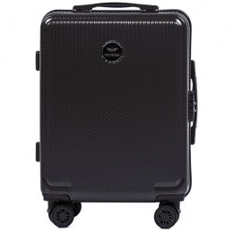 100 % POLICARBON / PC565, Cabin suitcase Wings S, Dark grey/ 5 years warranty