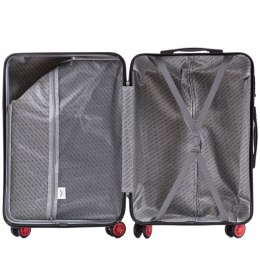 100 % POLICARBON / PC565, Sets of 3 suitcases L,M,S, Dark grey / 5 years warranty