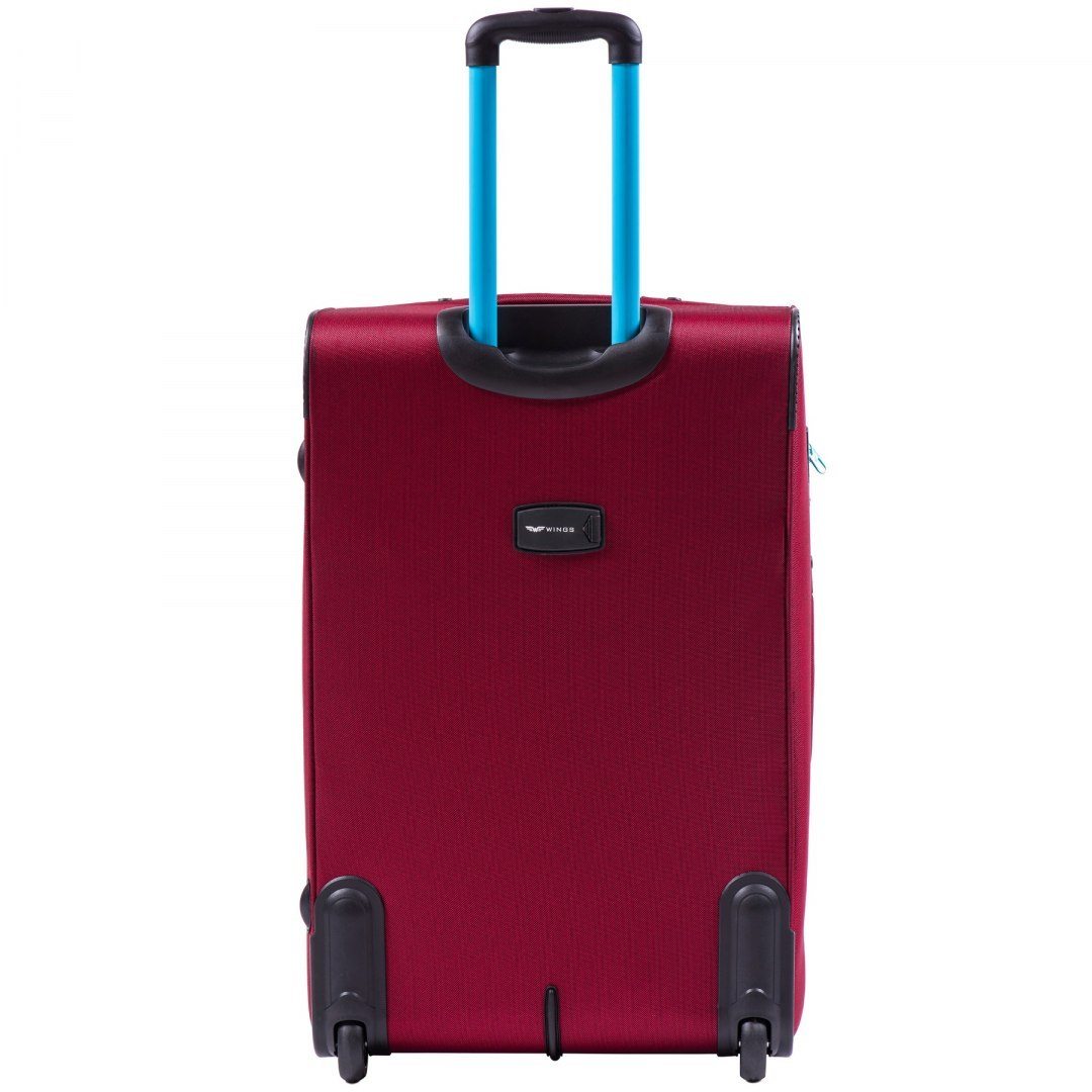 214, Sets of 3 suitcases Wings 2 wheels L,M,S, Red