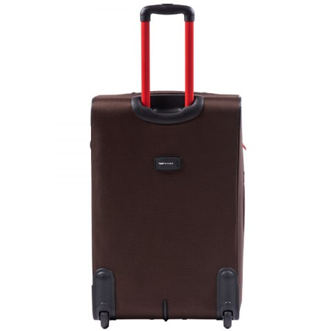 214, Sets of 3 suitcases Wings 2 wheels L,M,S, Coffee