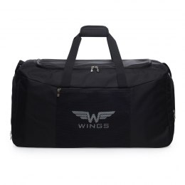Sports / Travel bags WINGS TB1003 M, Black-white