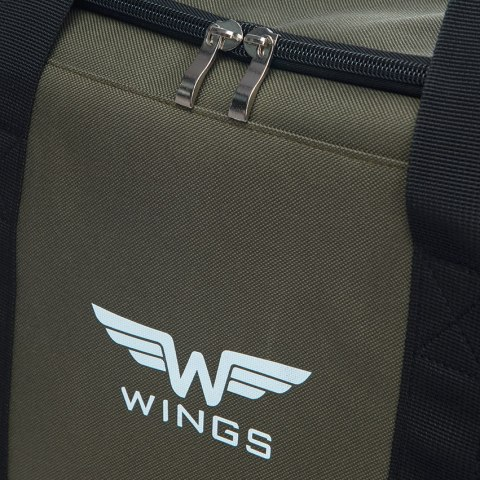Sports / Travel bags WINGS TB1002 S, Green-black