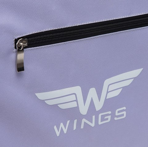 Sports / Travel bags WINGS TB1005 M, Light purple