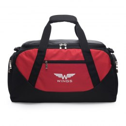 Sports / Travel bags WINGS L, Black/Red