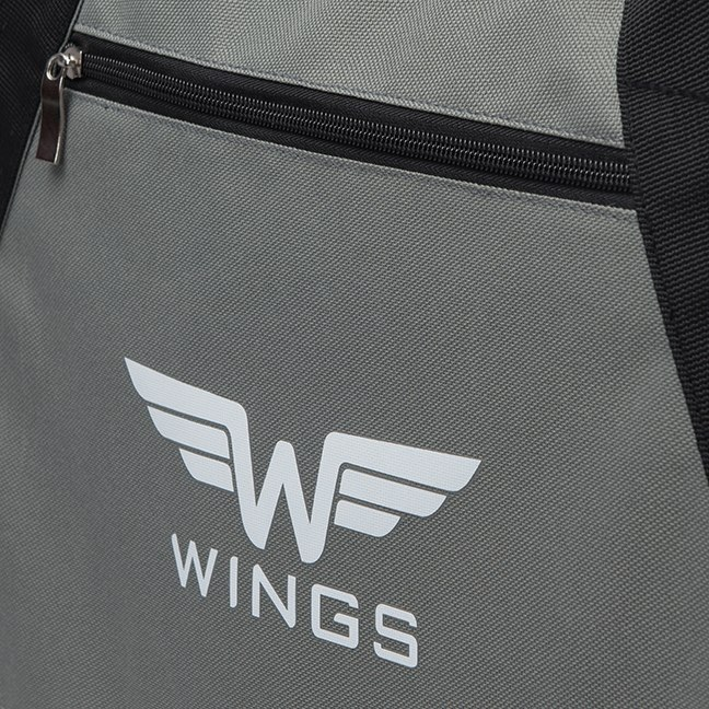 Sports / Travel bags WINGS L, Black/Grey