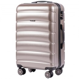 100 % POLICARBON / PC 160, Middle size suitcase Wings M, Bronze/ 5 years warranty