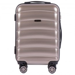 100 % POLICARBON / PC 160 ,Cabin suitcase Wings S, Bronze/ 5 years warranty