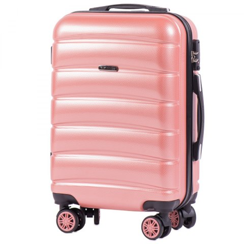 100 % POLICARBON / PC 160 ,Cabin suitcase Wings S, Pink/ 5 years warranty