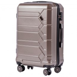 100 % POLICARBON / PC 185, Middle size suitcase Wings M, Bronze / 5 years warranty