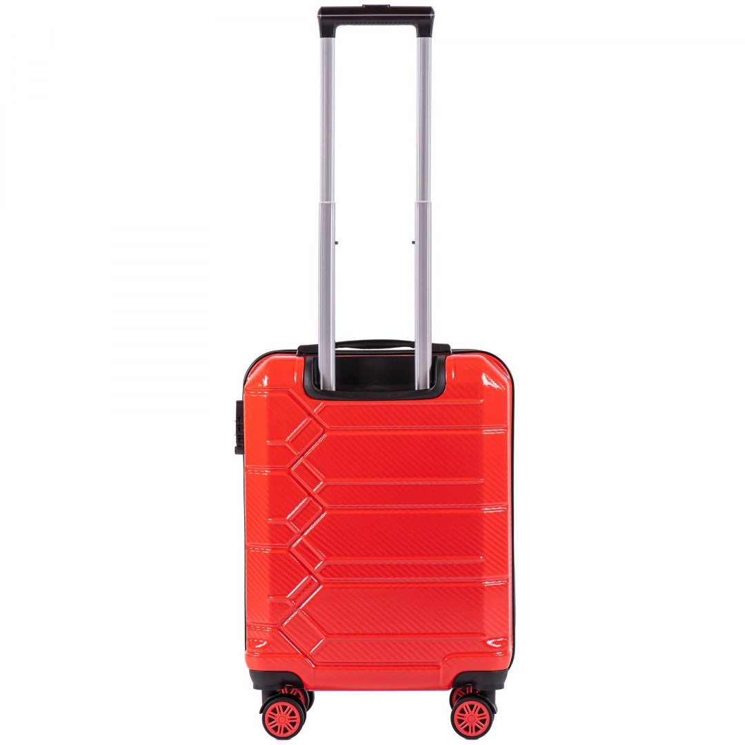 100 % POLICARBON / PC 185 ,Cabin suitcase Wings S, Blood red,/ 5 years warranty
