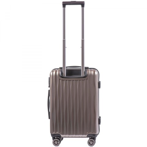 100 % POLICARBON / PC 5223,Cabin suitcase Wings S, Bronze / 5 years warranty