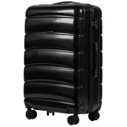 100 % POLICARBON / PC160, Large suitcase Wings Black / 5 years warranty