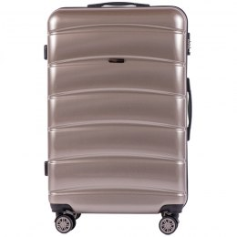 100 % POLICARBON / PC160, Large suitcase Wings Bronze / 5 years warranty