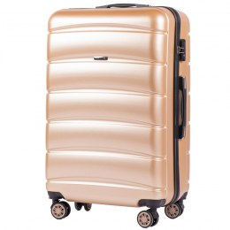 100 % POLICARBON / PC160, Large suitcase Wings Champagne / 5 years warranty