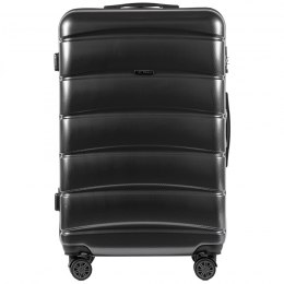 100 % POLICARBON / PC160, Large suitcase Wings Dark grey / 5 years warranty