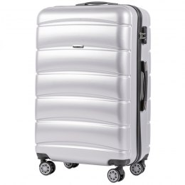 100 % POLICARBON / PC160, Large suitcase Wings Silver / 5 years warranty