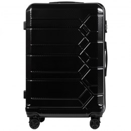 100 % POLICARBON / P185, Large suitcase Wings Black / 5 years warranty