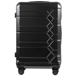 100 % POLICARBON / PC185, Large suitcase Wings Dark grey / 5 years warranty