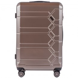 100 % POLICARBON / PC185, Large suitcase Wings Bronze / 5 years warranty