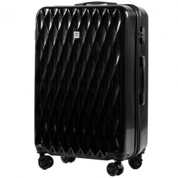 100 % POLICARBON / PC190, Large suitcase Wings Black / 5 years warranty