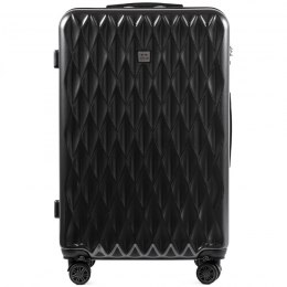 100 % POLICARBON / PC190, Large suitcase Wings Dark grey/ 5 years warranty