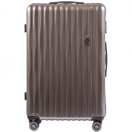 100 % POLICARBON / PC5223, Large suitcase Wings Bronze / 5 years warranty