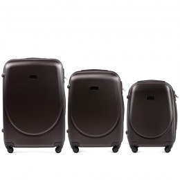 K310, Luggage 4 sets (L,M,S) Wings, Champagne