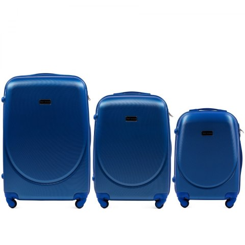 K310, Luggage 4 sets (L,M,S) Wings, Middle blue