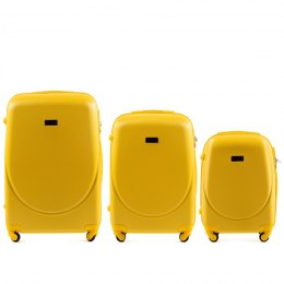 K310, Luggage 4 sets (L,M,S) Wings, Yellow
