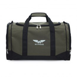 Sports / Travel bags WINGS TB1002 L, Green-black