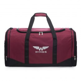 Sports / Travel bags WINGS TB1002 M, Red-black