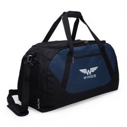 Sports / Travel bags WINGS M, Black/Blue