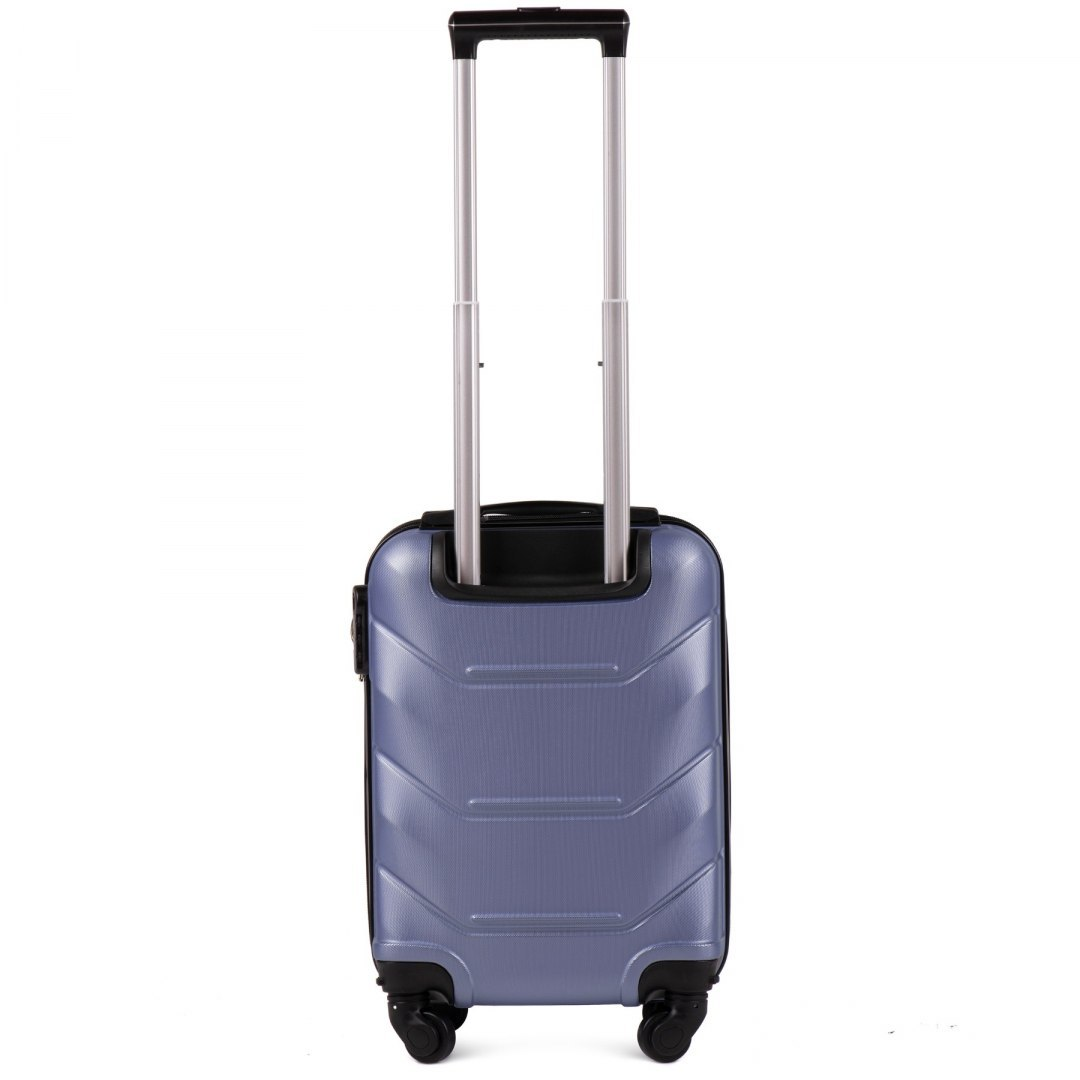 147, Small cabin suitcase Wings XS, Silver purple