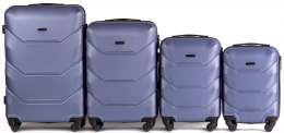 147, Luggage 4 sets (L,M,S,XS) Wings, Silver purple