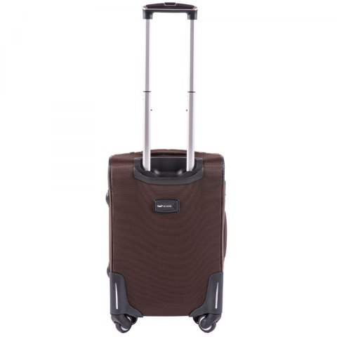 214 (2), Cabin soft travel suitcase 2 wheels Wings S, Black