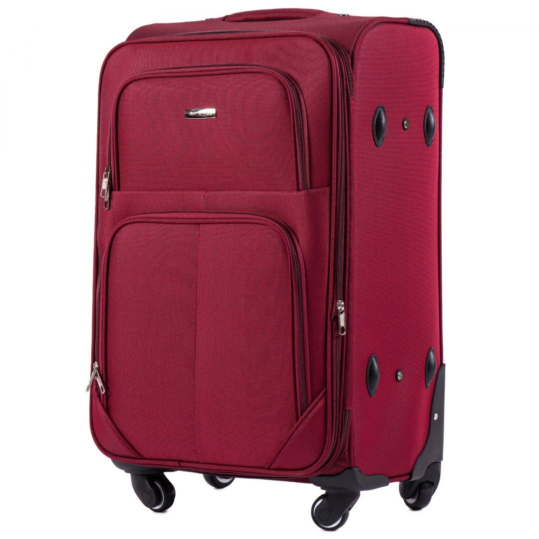 214 (2), Medium soft travel suitcase 2 wheels Wings M, Tourquse