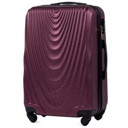 304, Middle size suitcase Wings M, Burgundy