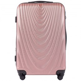 304, Middle size suitcase Wings M, Rose gold