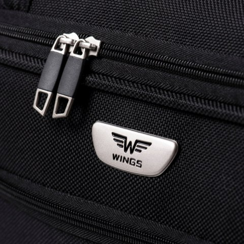 C1055, Large travel bags Wings L, Black