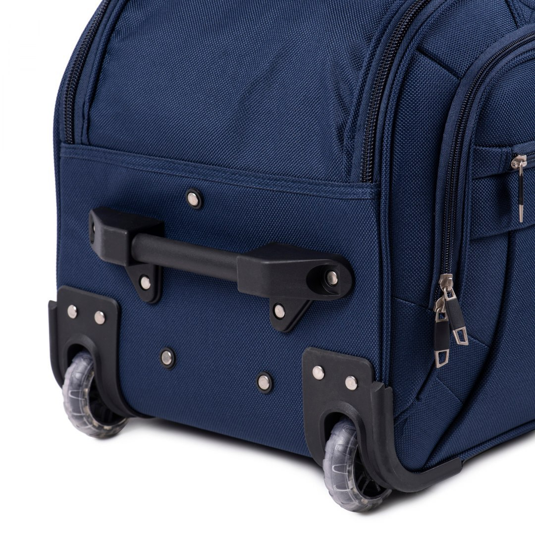 C1109, Middle travel bags Wings M, Navy blue