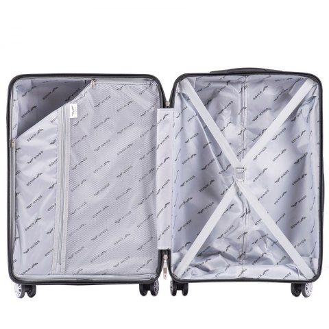 PP07, Large travel suitcase Wings L, Green- Polypropylene